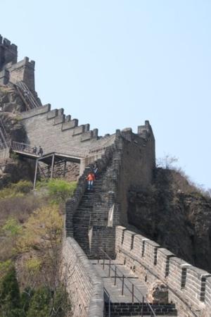 Photos of Great Wall at Shanhaiguan Pass (Zhendong Gate)
