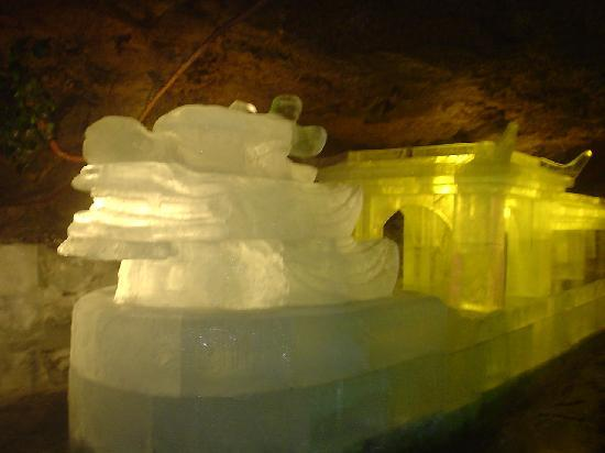 Photos of Lava Ice Cave of Heihe