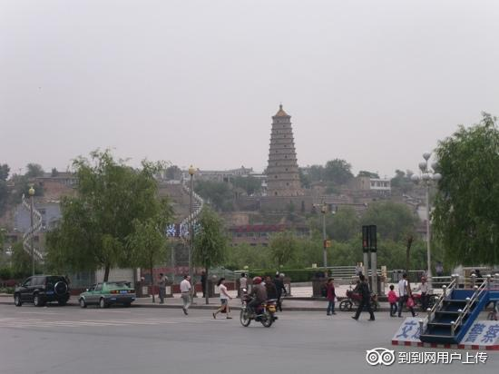 Photos of Lingxiao Tower of Yulin