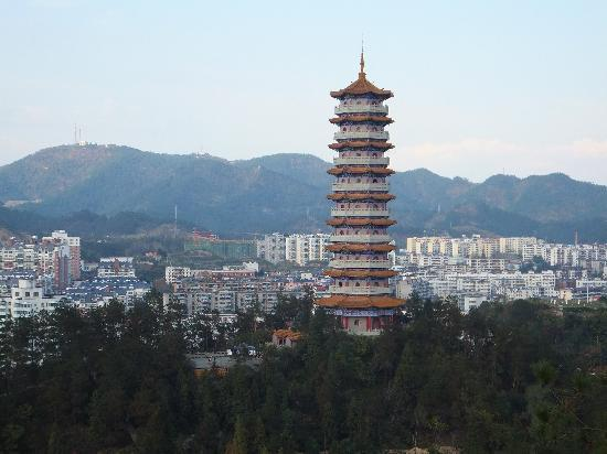 Photos of People′s Park in Shiyan