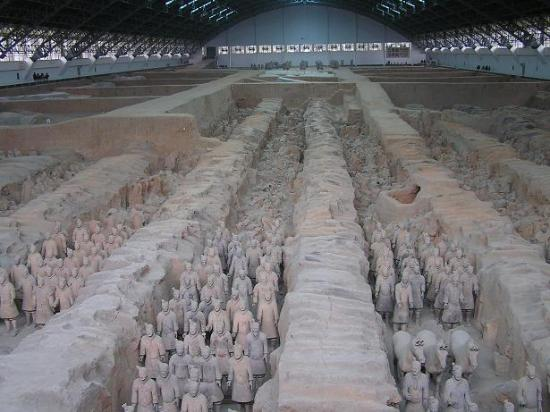 Photos of The Museum of Qin Terra-cotta Warriors and Horses