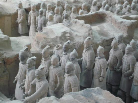 Photos of Tomb of Emperor Qin Shi Huang
