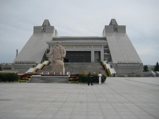 Photos of the Iron Man Memorial